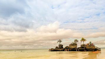 Фото бесплатно Боракай, природа, пляж