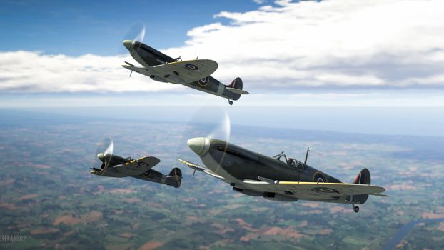 Photo free War Thunder, aviation, games