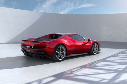 Photo free Ferrari red, red metallic, colors