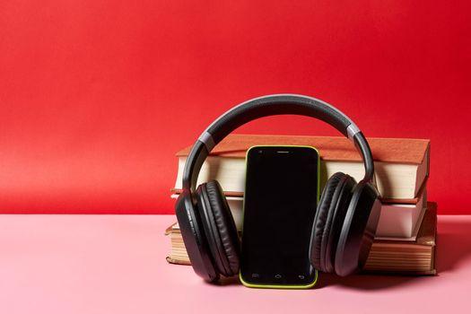 Photo free miscellaneous, headphones, smartphone