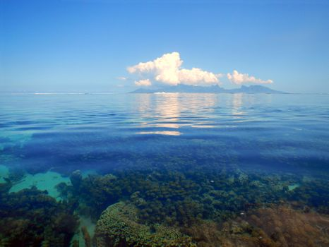 Море облака рифы