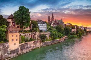 Фото бесплатно Базель, Швейцария, городской пейзаж