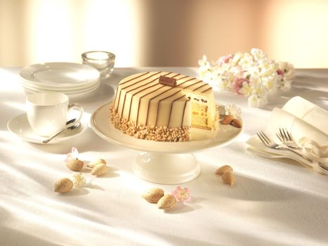 Фото бесплатно tort, marcipan, mindal, shokolad