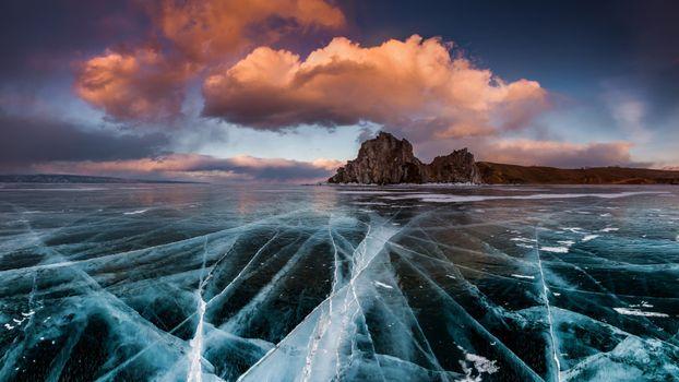 Ice on Baikal