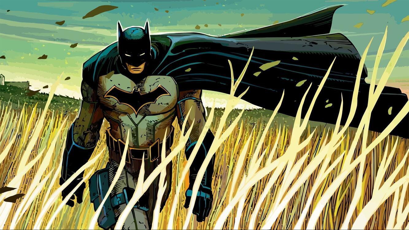 Фото комиксы Wallpaper Batman 3d графика - бесплатные картинки на Fonwall