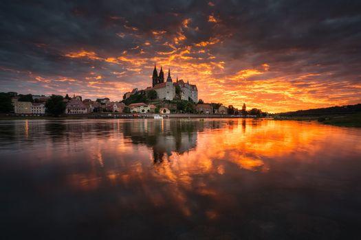 Фото бесплатно Город Мейсен, Саксония, Германия