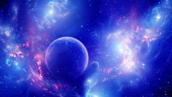 Фото бесплатно космос, атмосфера, планета
