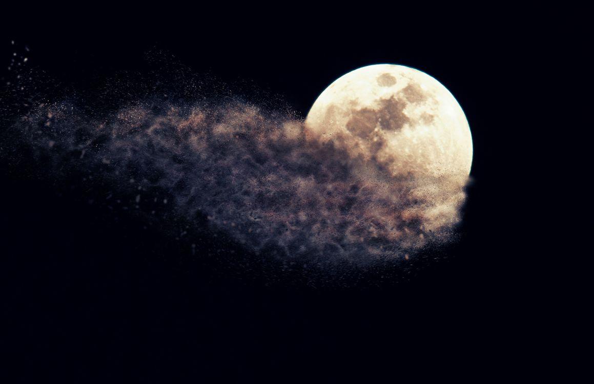 Обои Moon, Planet, Sky картинки на телефон