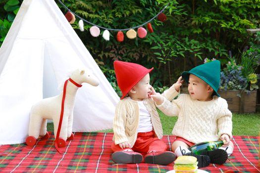 Photo free child, picnic, brothers