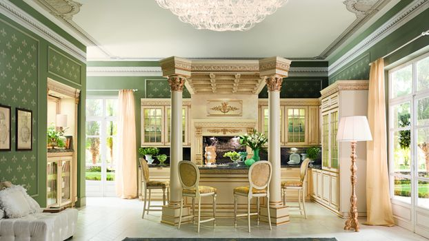 Фото бесплатно мебель, интерьер, кухня