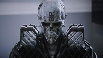 Бесплатные фото фантастика,череп,бронированный,робот,футуристический,витальный булгаров