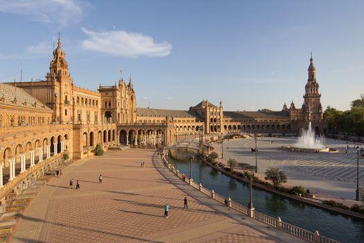 Фото бесплатно города, Испания, фонтаны