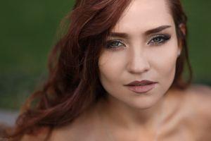 Фото бесплатно Дмитрий Шульгин, лицо, рыжий, женщины, модель, портрет, зеленые глаза, Dmitry Shulgin, face, redhead, women, model, portrait, green eyes