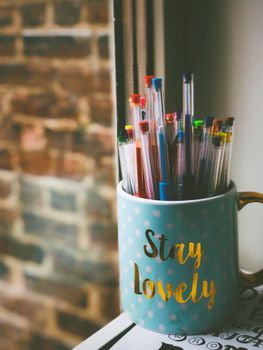 Photo free Mug, inscription, pens