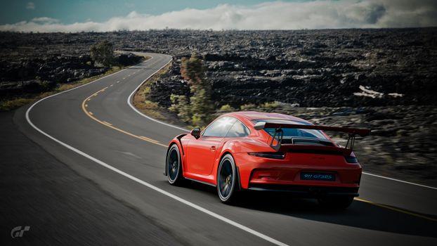 Photo free Gran Turismo Sport, games, Porsche 911