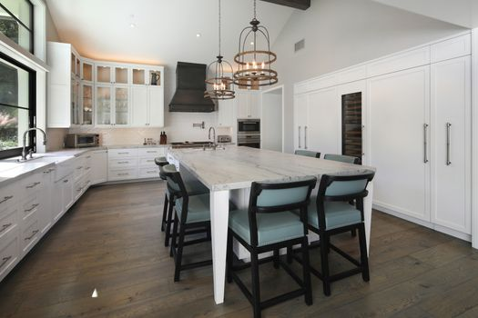 Photo free interior kitchen, interior, table kitchen