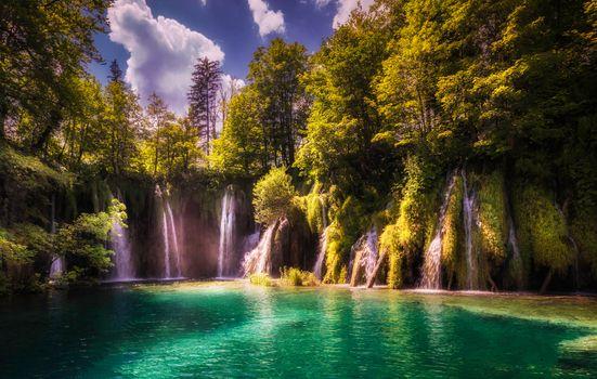 Заставки природа, Хорватия, рок