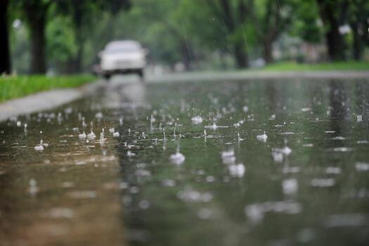 Фото бесплатно дождь, дождливая погода, мокрый асфальт