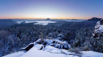 Фото бесплатно Саксонская, Швейцария, Германия