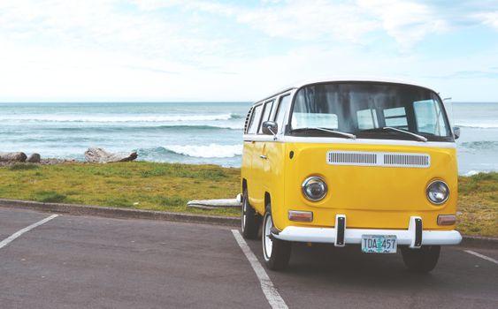 Photo free sea, car, vw
