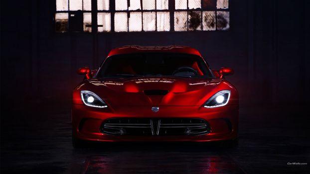 Photo free car, Dodge, red cars