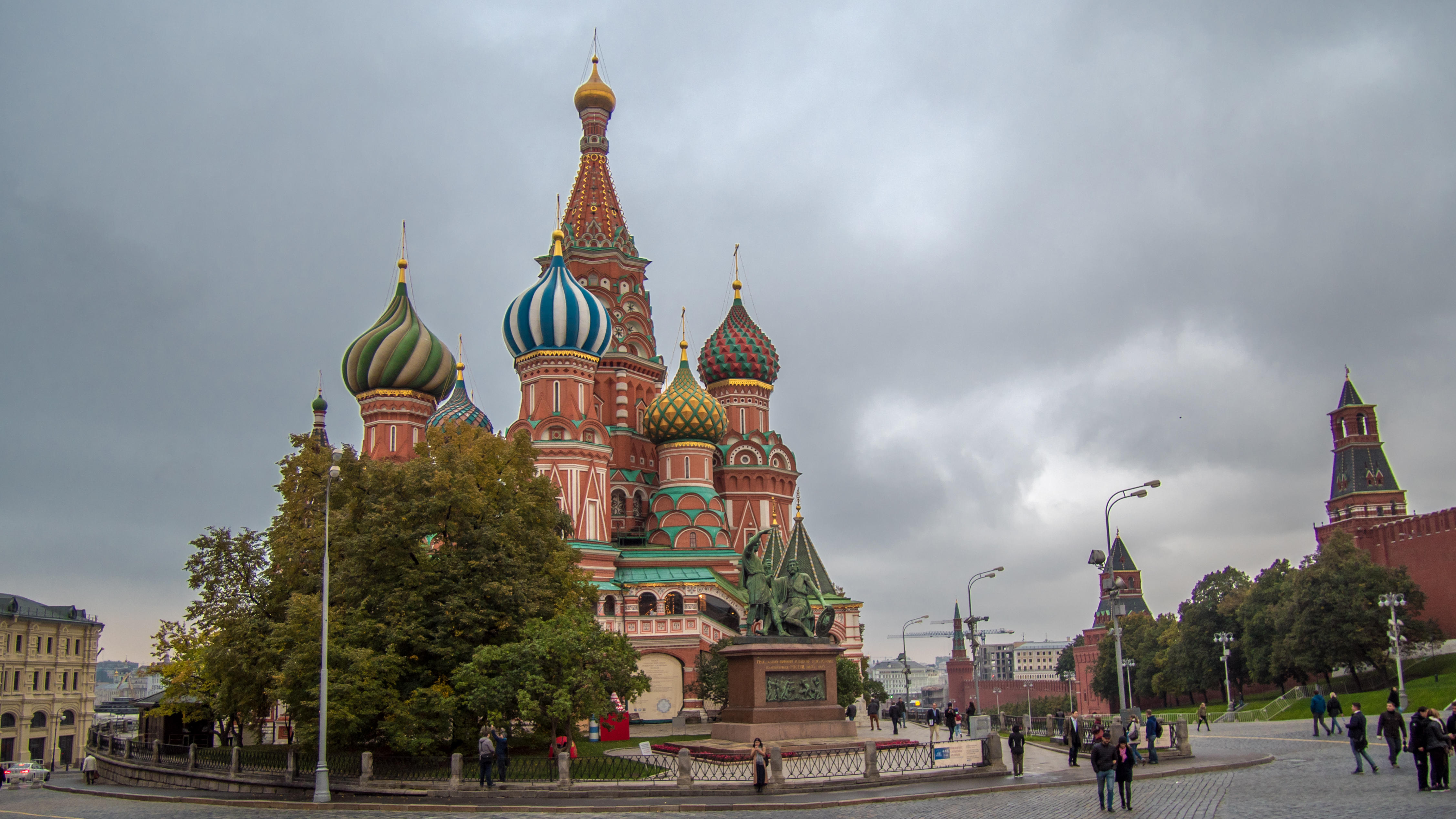 обои The Cathedral of Vasily the Blessed, Moscow картинки фото