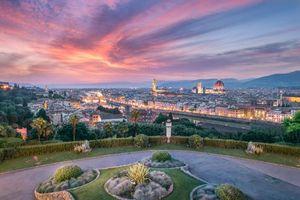 Бесплатные фото Florence,Флоренция,Италия,город,закат