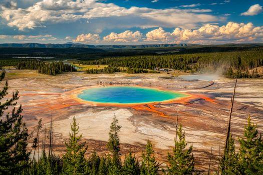 Фото бесплатно Национальный парк Йеллоустоун, Вайоминг, Yellowstone National Park