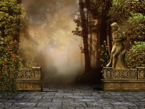 Заставки искусство, произведение искусства, лес