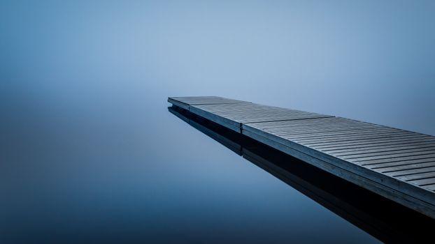 Photo free pier, lake, calm