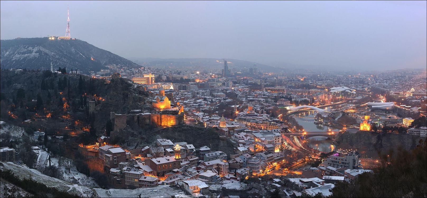 Фото бесплатно Тбилиси, январь, Грузия, город