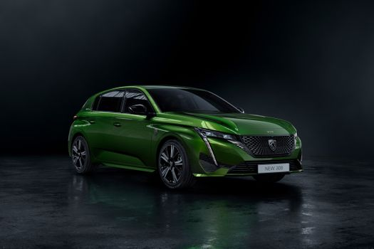 Photo free automobile, Peugeot, green