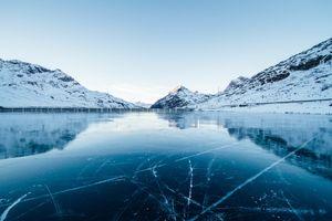 Фото бесплатно фьорд, форма рельефа, горы