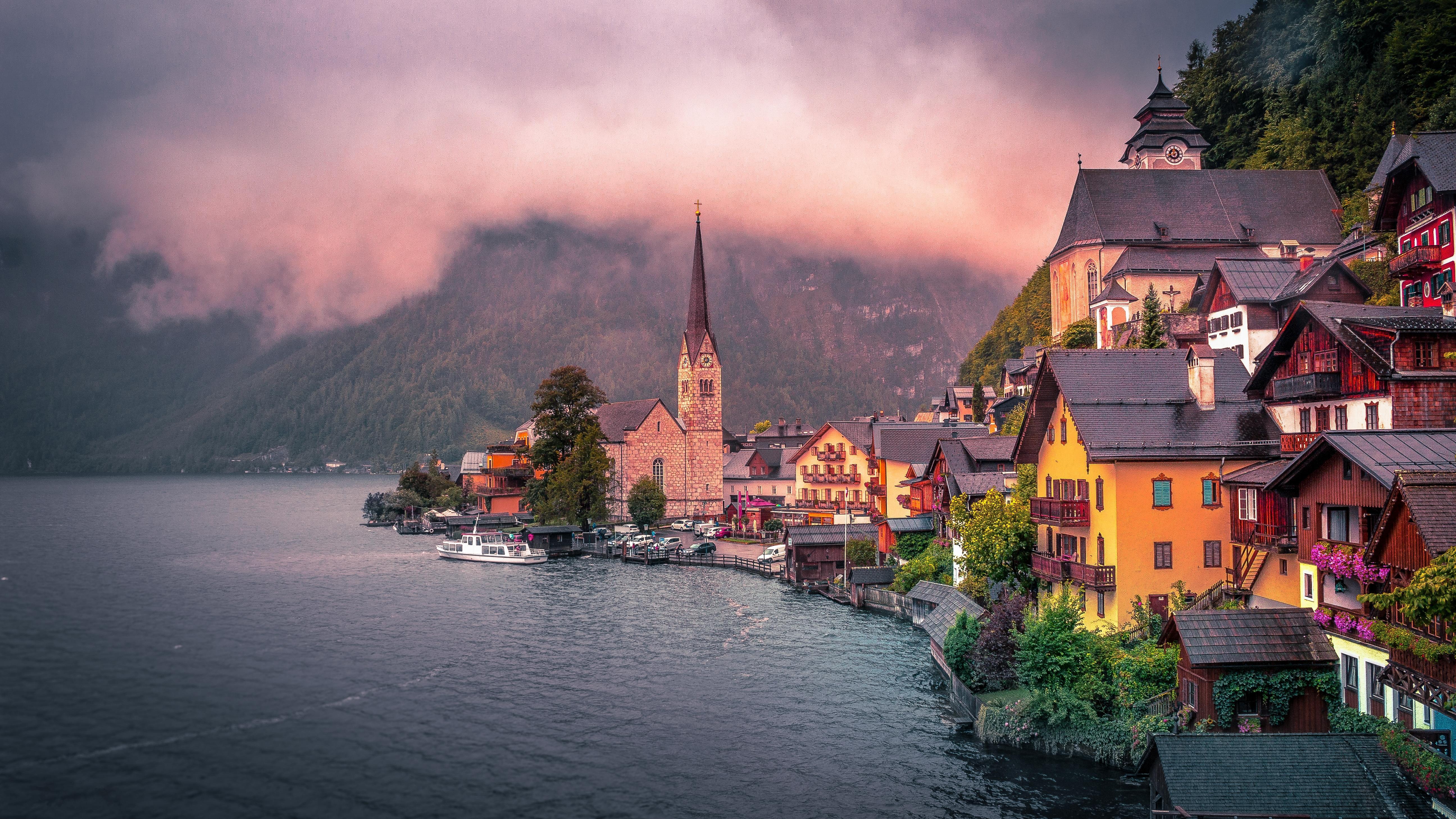 Обои Хальштатт, Hallstatt, Гальштат, Австрия