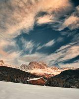 Фото бесплатно горы, снег, зима