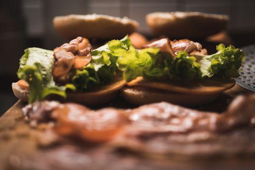 Заставки самодельный, бургер, блюдо