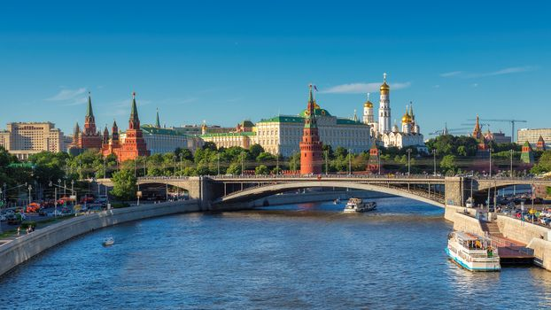 Photo free Moscow Kremlin, Moskva River, Russia