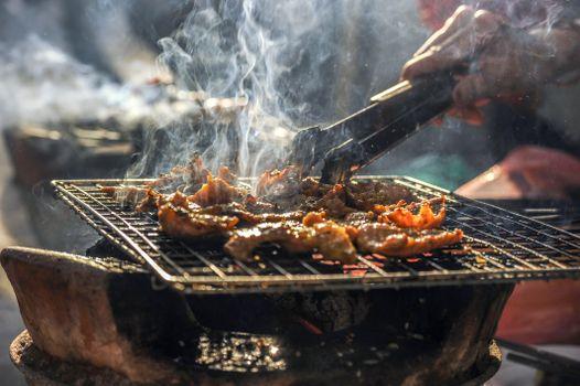 Фото бесплатно дым, блюдо, еда