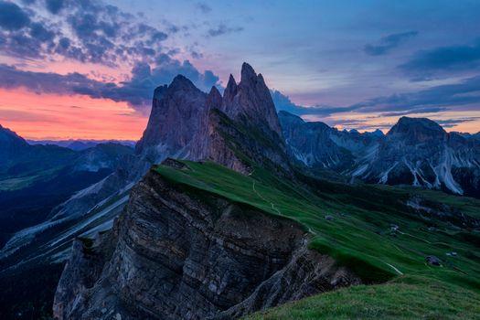 Фото бесплатно скалы, пейзаж, облака
