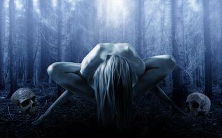 Фото бесплатно готический, фантазия, ритуал