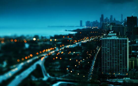 Фото бесплатно городской пейзаж, сумрак, здание