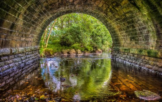 Фото бесплатно река, мост, тоннель