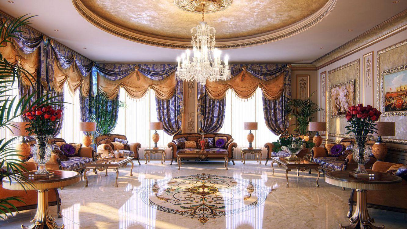 Фото бесплатно вазы, диван, гостиная, интерьер