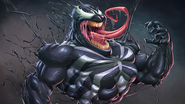 Photo free Venom, superheroes, artwork