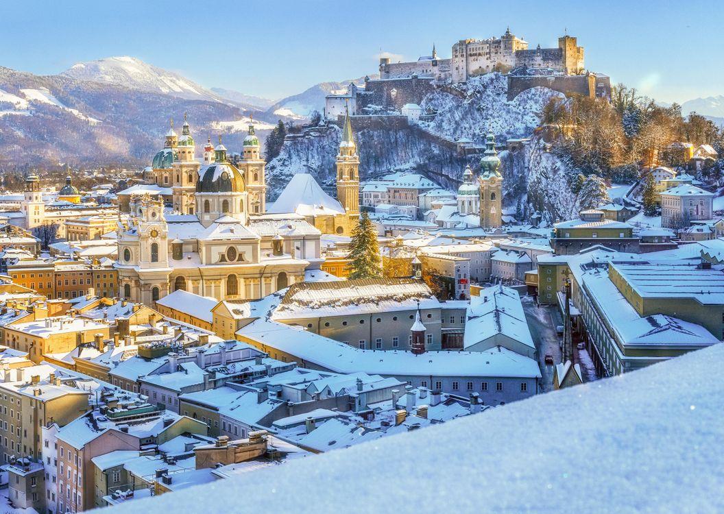 Бесплатно зальцбург, австрия - фото красивые
