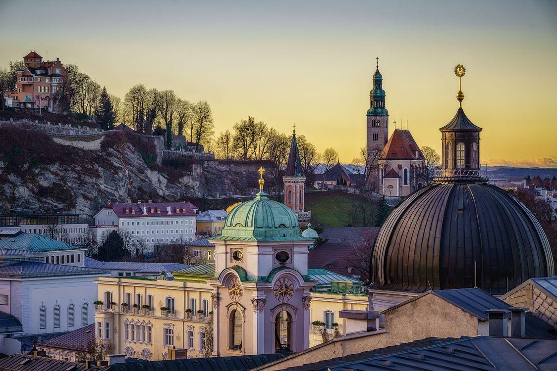 Фото бесплатно Salzburg, Зальцбург, Австрия, город