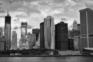 Фото бесплатно Нью-Йорк, архитектура, центр города