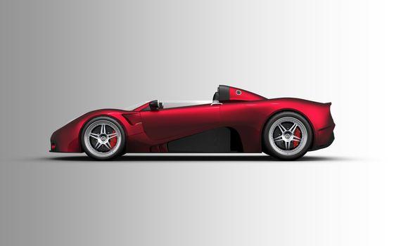Photo free car, red, sports car