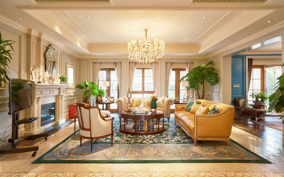 Photo free living room, sofa, interior
