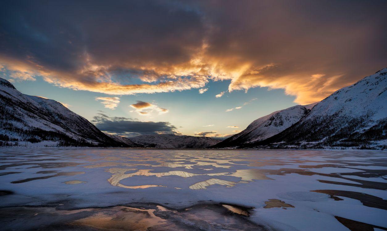 Фото Норвегия горы Норвегии природа - бесплатные картинки на Fonwall